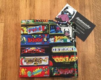 Arcade Marquee Geek Handkerchief