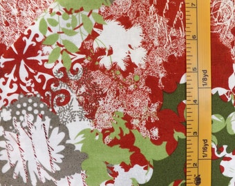 Moda Fabrics, Blitzen, BasicGrey, Item 30290, Color 11, Christmas Quilting Fabric
