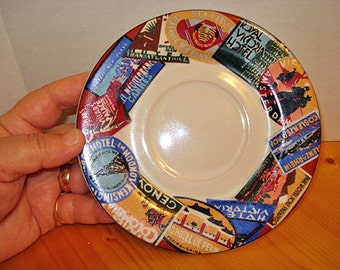 Around the World Cups with Saucers