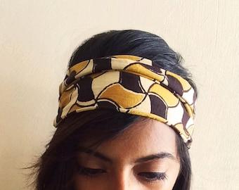 Handmade cotton headband