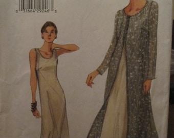 Chic VOGUE 9990 dress pattern for women