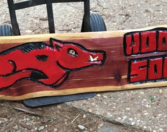 Razorback Chainsaw Carving