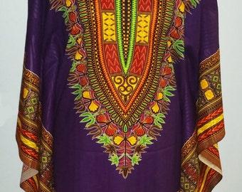 Batwing Dashiki Dress/Summer dress