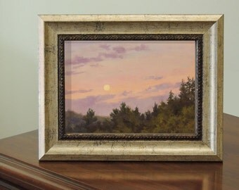 Small Oil Painting Sunset