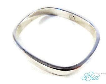 Italian design 925 Silver square bracelet
