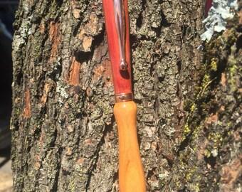 Cherry and cedar handmade ink pen