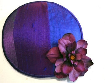 Purple Rainbow Kippah