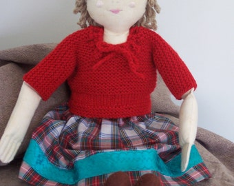cloth doll handmade collectable