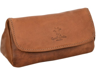 Gusti 'Jared' leather pipe bag for a pipe tobacco pouch