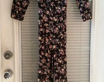 Vintage 80's-90's Floral Jumpsuit by Young Edwardian by Arpeja