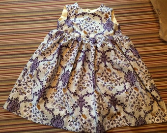 girls,toddler,clothing,purple,flowers,floral,princess,dress,back to school,sleeveless,lined