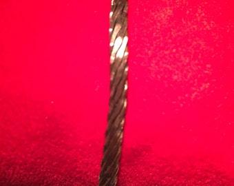 Copper webbed cuff bracelet