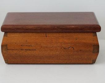Purple Heart Walnut Box