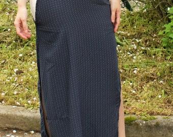Maxi short skirt