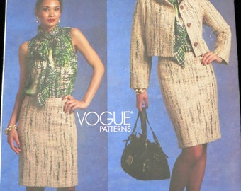 Vtg - BAGLEY MISCHKA Platinum PATTERN - V1127 - Jacket Skirt and Blouse - Size 14 - 16 - 18 - 20 - Uncut - 2009