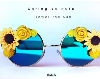 Flower the sun
