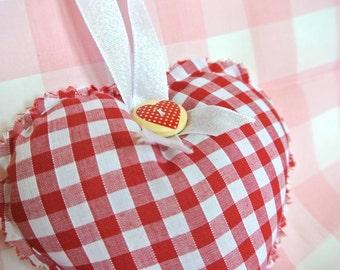Handmade Hanging Heart