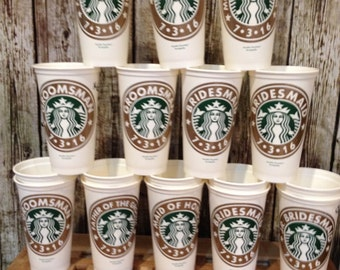 Genuine starbuck cups available for all occasions .these Starbucks are 16 oz.