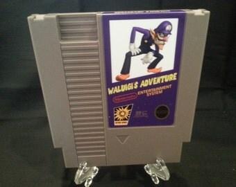 Waluigi's Adventure Nintendo NES Game