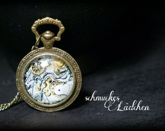 "Necklace ""Steampunk"""