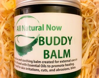 Buddy Balm for Pet Lovers!/100% Pure & Therapeutic Essential Oils/Pet Skin Irritations/Pet Hot Spots/Pet Rashes