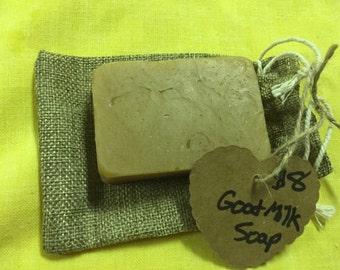 Large goat milk soap