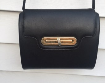 Black & Gold Box Purse