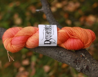 Leaf Pile - Hand Dyed Yarn - SW Merino Wool/Nylon (80/20) Fingering/Sock Weight