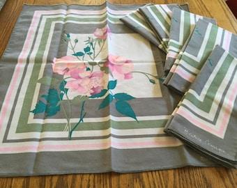 Set of 6 Beatrice Comerma Cloth Napkins