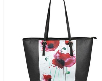 Panel Zip Up Tote