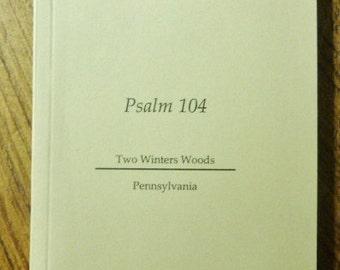 Psalm 104 Chapbook
