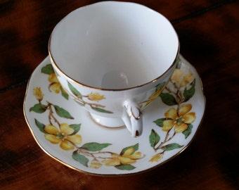 Fine china tea cup