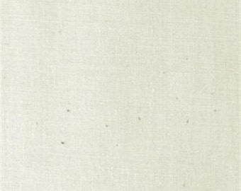 "Plain Muslin Fabric - NATURAL 100% cotton 45"" fabric by the yard 1553232  (G114)"