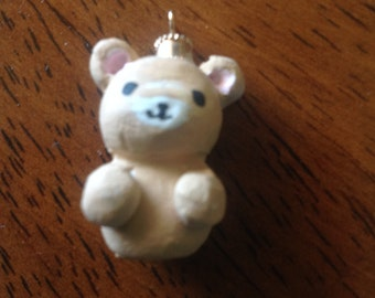 brown teddy bear charm