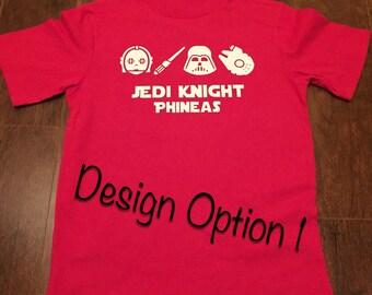 Jedi Knight Toddler Shirt