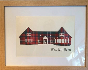 Handmade Tartan Commissioned Picture