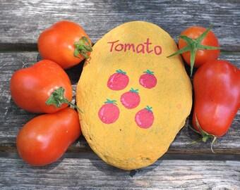 Garden marker: tomato