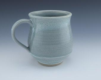 Ceramic Mug with handle for coffee or tea, wheelthrown