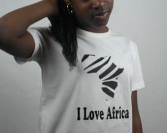 I love Africa T.shirt