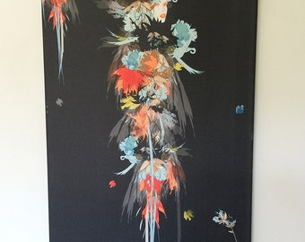 canvas 45 x 90 cm