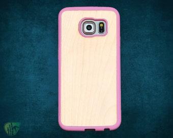 Samsung S6 Edge Plus cases rubber wood