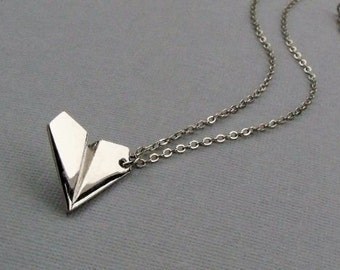 Paper Plane Nacklace