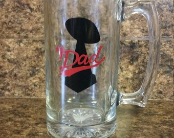 Number 1 Dad Beer Mug