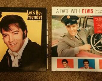 Elvis Presley Records (2 records) 1960, 1970
