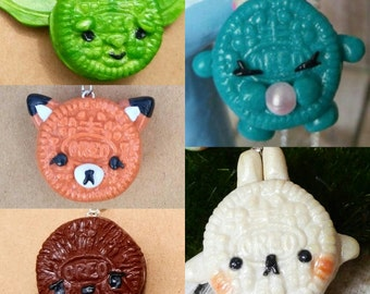 Oreo Inspired Charms