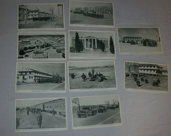 Lot of Military Postcards: Fort Dix, NJ