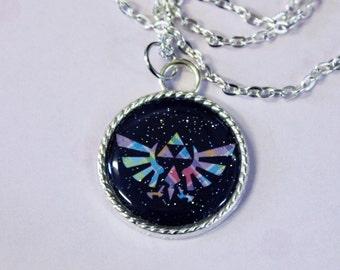 Legend of Zelda Triforce Cameo Necklace