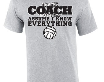 Volleyball Coach Everything - Volleyball T-shirt