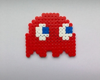 Hama Bead Blinky the Ghost Magnet