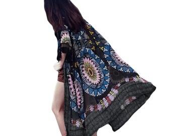 Kimono/Boho/Bohemian/Black